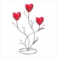 Heart Bouquet Candleholder 12480