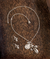 Jewelry Set with Cross Charms 10016106