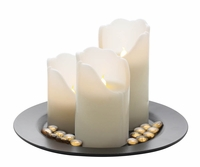 LED Candle Set with Remote 10016483