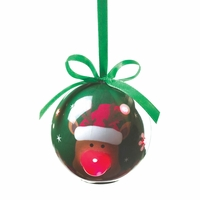 Light Up Reindeer Ornament 10016084