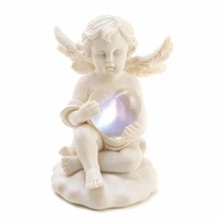 Love's Glow Lighted Cupid Figurine 14697
