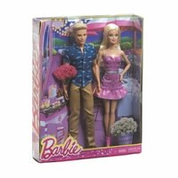 Mattel Barbie and Ken Fashion Dolls 12010027