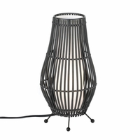 Metal Slat Hourglass Lamp 10015799