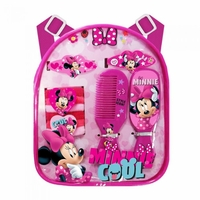 Minnie Mouse Backpack with Hair Accessories 12010478