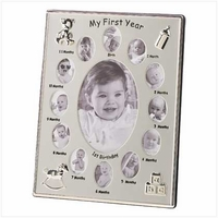 """My First Year"" Photo Frame 39783"