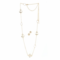 Nautical Necklace and Earring Set 10016114