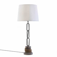 Nautical Rope Trim Table Lamp 15163