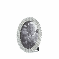 Oval Photo Frame with Rhinestones, 4 x 6 10016948