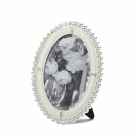 Oval Rhinestone Photo Frame, 4 x 6 10016933