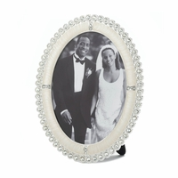 Oval Rhinestone Photo Frame, 5 x 7 10016934