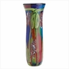 Peacock Art Glass Vase 13908