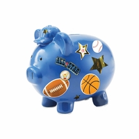 Piggy Bank, Blue 10015717