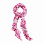 Pink Butterfly Fashion Scarf 10016250