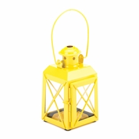 Railroad Candle Lantern, Yellow 10015854