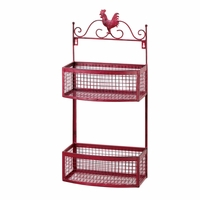 Red Rooster Double Wall Rack 10015876