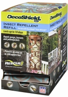 (12 DISPLAY BOX) Rescue - DecoShield WHY Waps/Hornets Repellent Refill, DS-WHYR-DB12