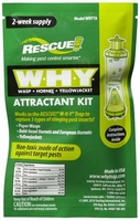 Rescue WHY Trap Wasp, Hornet, Yellow Jacket Non-Toxic Attractant Refill (2 Week),  WHYTA