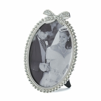 Rhinestone Bow Photo Frame, 5 x 7 10016947
