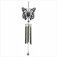 Rustic Butterfly Wind Chime, 25 inch 13904