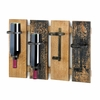 Rustic Wine Wall Rack 10015543