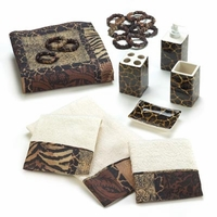 Savannah Complete Bath Decor Set 14781