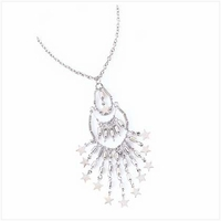 Shimmer Pendant Necklace 39515