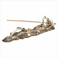 Skeleton Incense Burner 37078