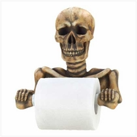 Skeleton Toilet Paper Holder 12608