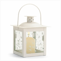 Small Ivory Lantern, 4 3/4 inches 37440