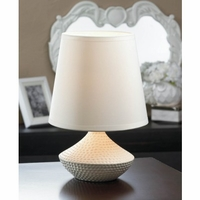 Small Table Lamp, White 10016957