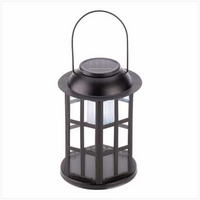 Solar Carriage Lantern 12526