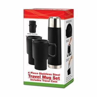 Stainless Steel Travel Mug Set 10015925