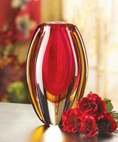 Sunfire Glass Vase 12117