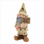"""Support Our Troops"" Garden Gnome 39627"