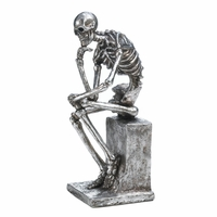 """The Thinker"" Skeleton Statue 10017012"