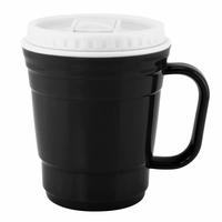 Travel Coffee Mug, Black 10015905