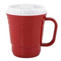 Travel Coffee Mug, Red 10015904