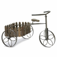 Tricycle with Basket Plant Holder 10015796