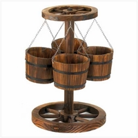 Wagon Wheel Planter 12691