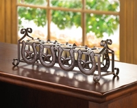 Western Horseshoes and Stars Candleholder 10015298