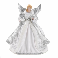 White Angel Tree Topper 10016092