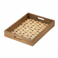 Wooden Serving Tray with Handles 10015402
