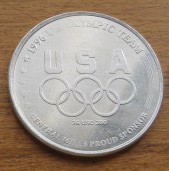 1996 USA Olympic Diving Team General Mills coin or medallion