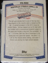 2012 Perfect Game Bowman 48 Rookie Card factory sealed set (Trey Ball J.P. Crawford Clint Frazier Reese McGuire Austin Meadows Kohl Stewart Dominic Smith)