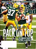 Aaron Rodgers autographed Green Bay Packers Super Bowl 45 Sports Illustrated