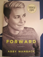 Abby Wambach autographed Forward hardcover book