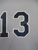 Alex Rodriguez autographed New York Yankees authentic game model Majestic road gray jersey