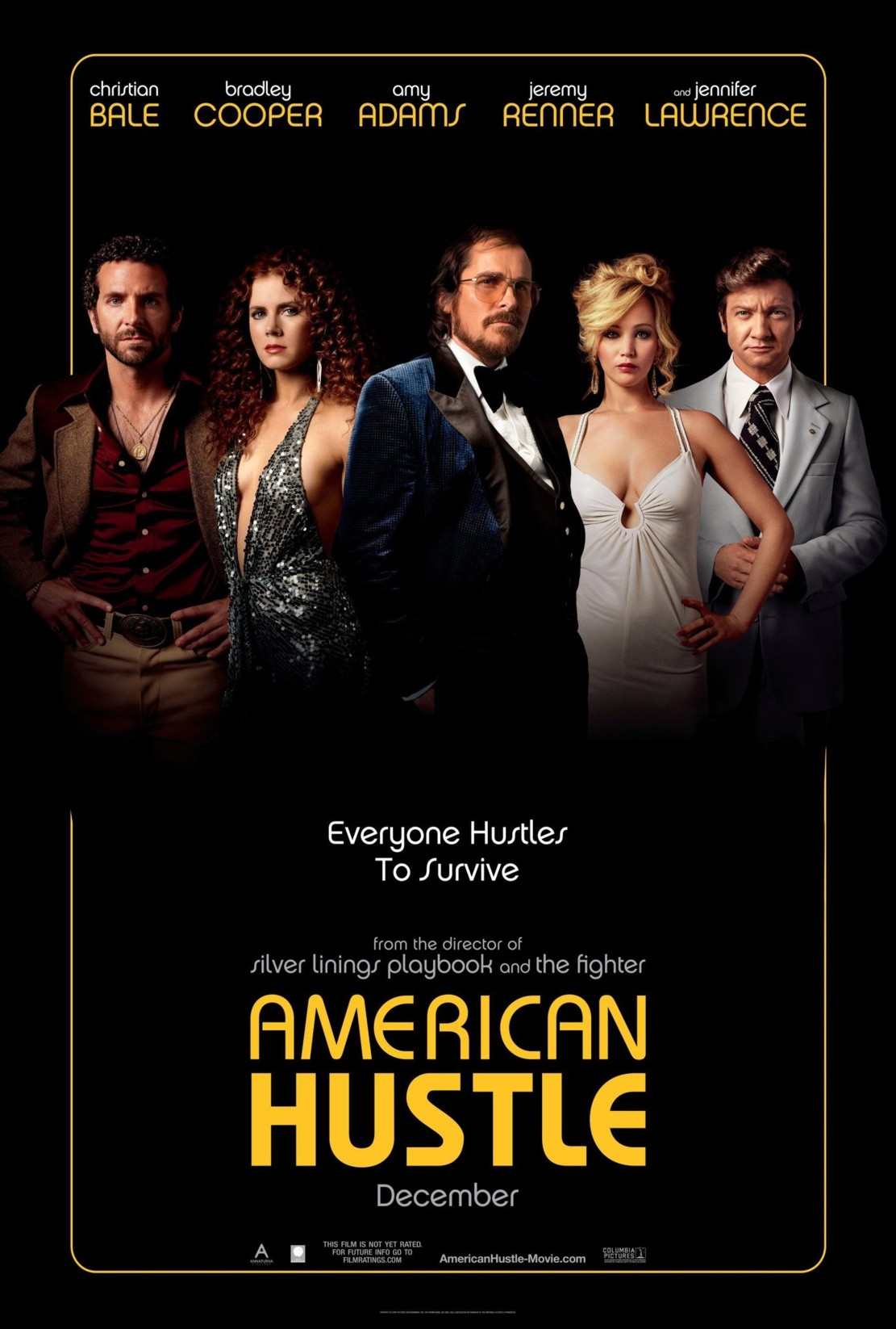 american hustle mini movie poster amy adams christian