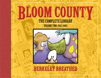 Berke Breathed autographed Bloom County Complete Library V2 book (BINKLEY remarqued) #41/100