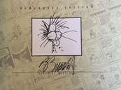 Berke Breathed autographed Bloom County Complete Library V3 book (Bill the Cat remarqued) #54/100